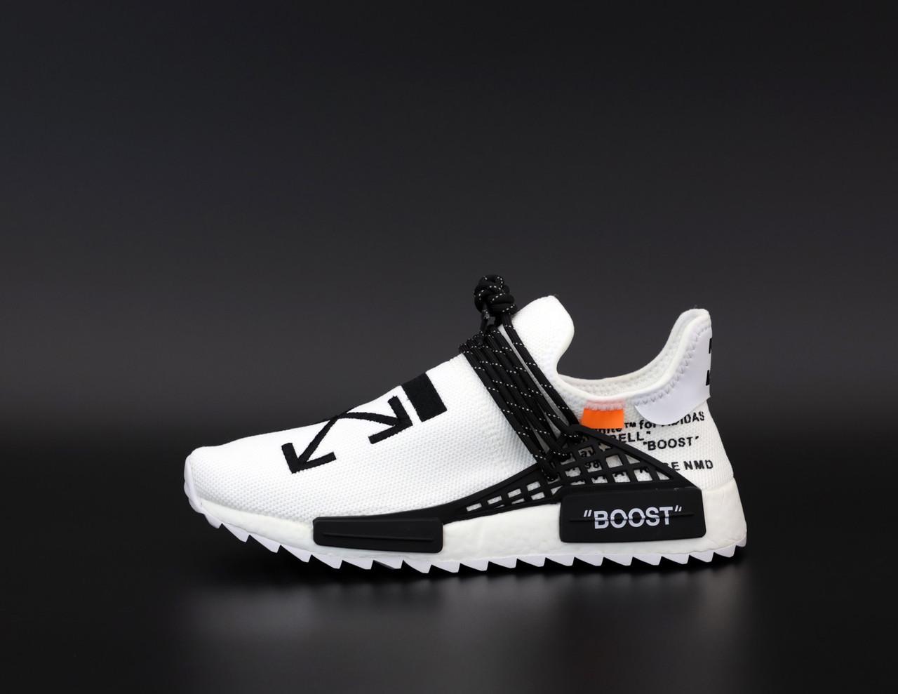 Чоловічі кросівки Adidas nmd х of-white