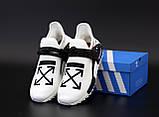 Чоловічі кросівки Adidas nmd х of-white, фото 3
