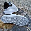 Кроссовки криперы ALEXANDER MCQUEEN |копия| белые на толстой подошве высокие кожаные перфорация, фото 4