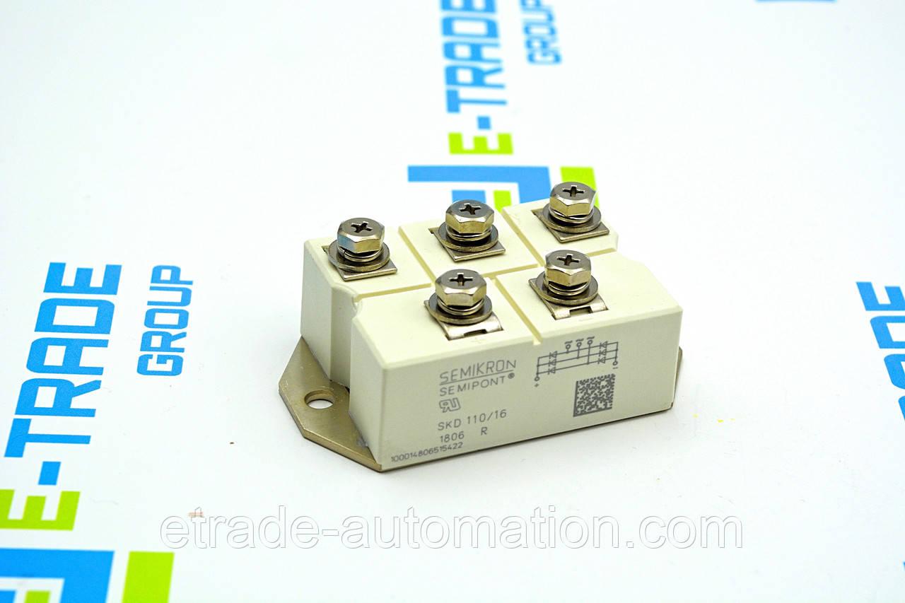 Тиристорний модуль SEMIKRON SKD 110/16