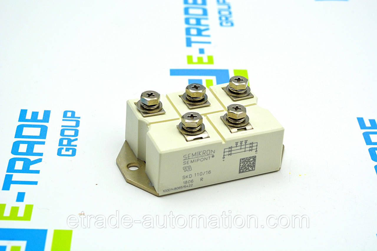 Тиристорный модуль SEMIKRON SKD 110/16