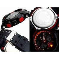 Часы Casio Original G-Shock GA100-1A4ER черные с красным (GA100-1A4ER)