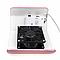 Вытяжка настольная для маникюра Nail Dust Collector FX4 30W Розовый, фото 3