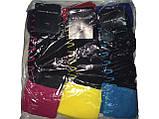 Шкарпетки жіночі махра Tommy відворот зигзаг, фото 7