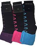 Шкарпетки жіночі махра Tommy відворот зигзаг, фото 3