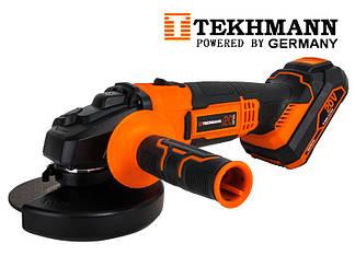 Аккумуляторная болгарка Tekhmann TAG-125/i20 Kit (Бесплатная доставка)