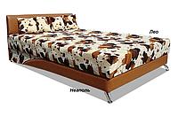 Кровать двуспальная Сафари 160х200 с матрасом