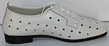 Туфли кожаные женские от производителя модель КЛ2155-2, фото 3