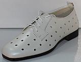 Туфли кожаные женские от производителя модель КЛ2155-2, фото 2