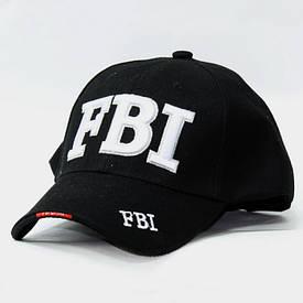 Бейсболка FBI черная