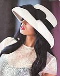 Элегантная шляпка с большими  полями из  фетра, фото 3