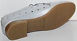 Туфли кожаные женские от производителя модель КЛ2155-3, фото 4