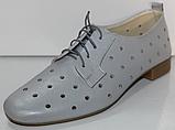 Туфли кожаные женские от производителя модель КЛ2155-3, фото 2