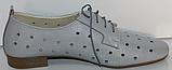 Туфли кожаные женские от производителя модель КЛ2155-3, фото 3