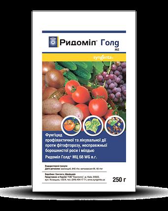 Фунгицид комбинированный Ридомил Голд (250 г) — для защиты овощей и винограда от заболеваний, фото 2
