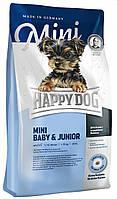 Happy Dog Mini Baby Junior 4кг Сухий корм для цуценят малих порід