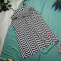 Платье подросток youngstyle Рост 140 коттон черный и белый, фото 1