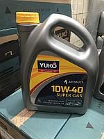 Моторное масло полусинтетика YUKO SUPER GAS 10W-40 API SM/CF 4л