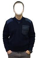 Свитер синий МЧС Pancer