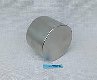 Неодимовый магнит хром 55мм/35мм (130 кг) 3шт, фото 1
