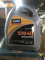 Масло моторное полусинтетическое YUKO DYNAMIC 10W-40 API SG/CD 4л