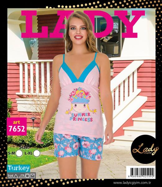 Комплект для сна 7652 хлопок Lady Lingerie