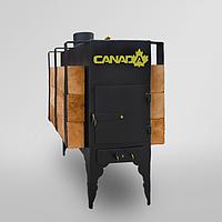 Печь дровяная CANADA с теплоаккумулятором длительного горения / Печь дровяная 02