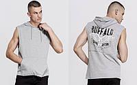 BUFFALO DAVID BITTON брендовые футболки майки с капюшоном кенгуру оригинал из США р.XXL