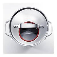 SENSUELL Набор кухонной посуды, 3 предмета, нержавеющ сталь