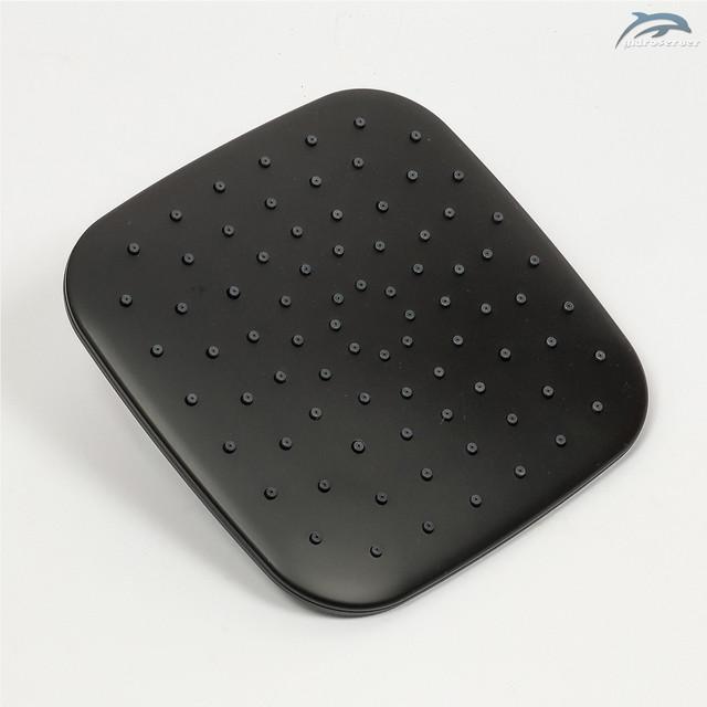Лейка верхнего душа для душевой системы WEMI SB-10 квадратной формы с размерами 200 на 200 мм.