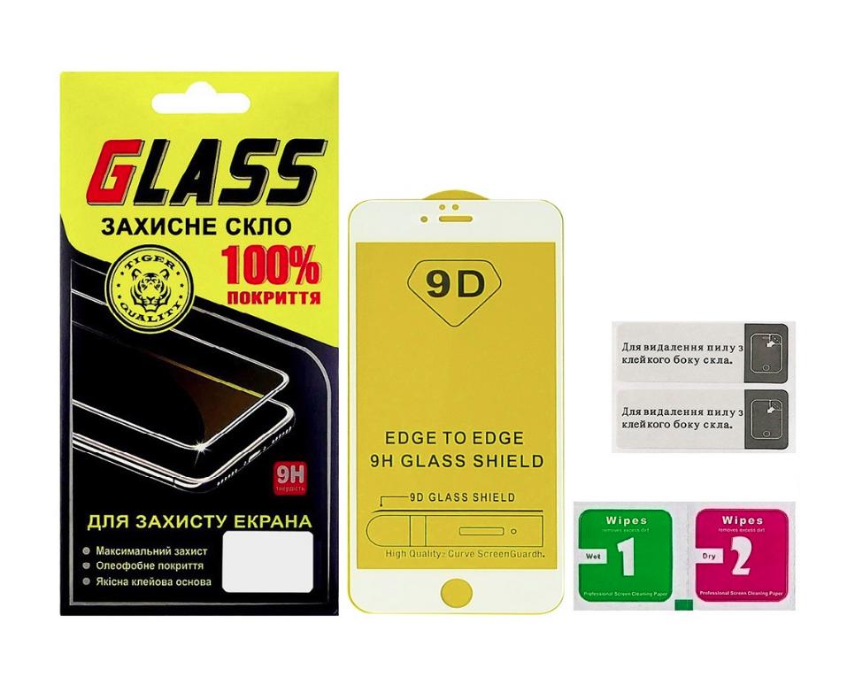 Защитное стекло для APPLE iPhone 6 Plus Full Glue (0.3 мм, 2.5D, белое)