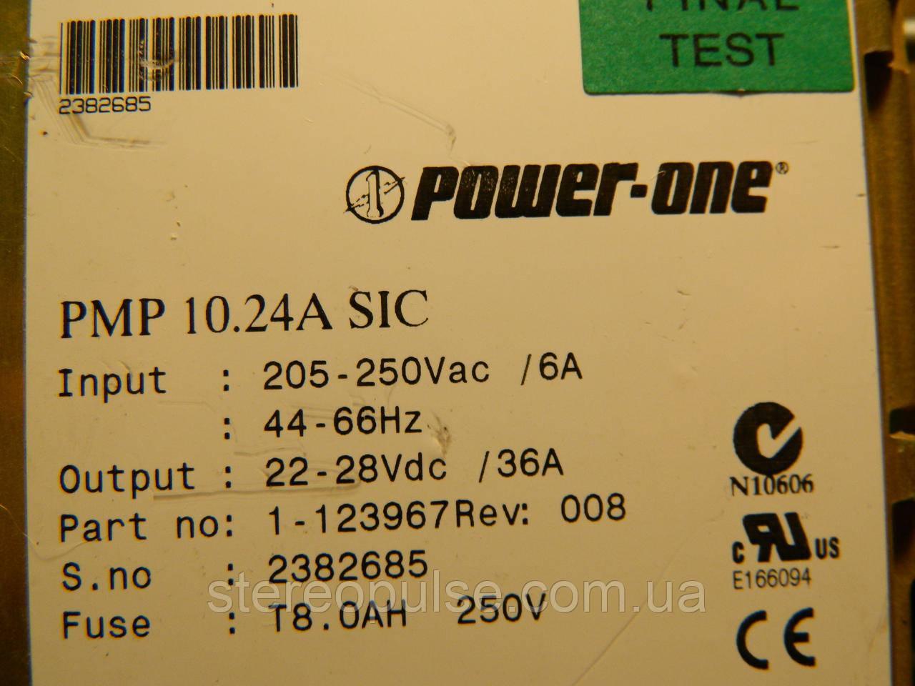 Блок питания power-one 24В 36А 1кВт