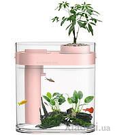 Аквариум Xiaomi HFJH Amphibian ECO-Aquarium Aquaponics Youth Edition (Pink) HF-JHYGZH002