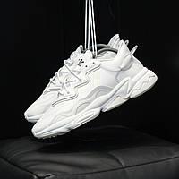 Жіночі кросівки Adidas Ozweego White \ Адідас Озвиго Білі \ Жіночі кросівки Адідас Озвіго Білі
