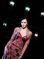 Кружевное вечернее платье с корсетом на шнуровке (S, M)