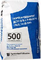 Цемент ПЦ ІІ/А-Ш-500 т 25 кг