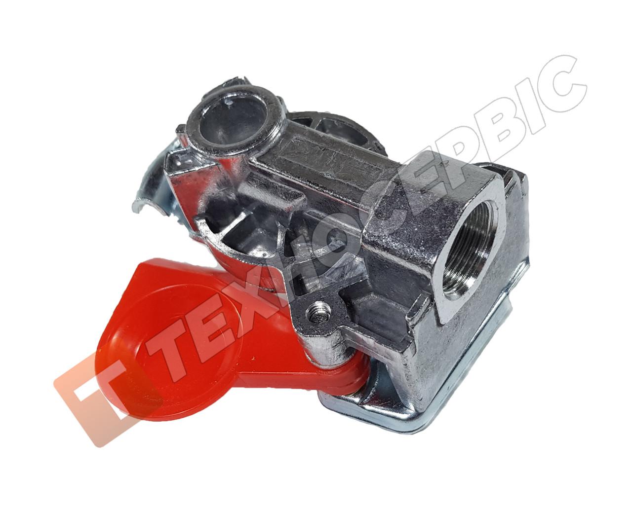 Головка соединительная М22х1.5 стандарт без клапана красная (4522000110) Турция