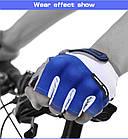 Велоперчатки Перчатки вело Синий ХЛ BLACK FOREST