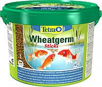 Tetra pond wheatgerm sticks 10л облегченный корм для осени/зимы