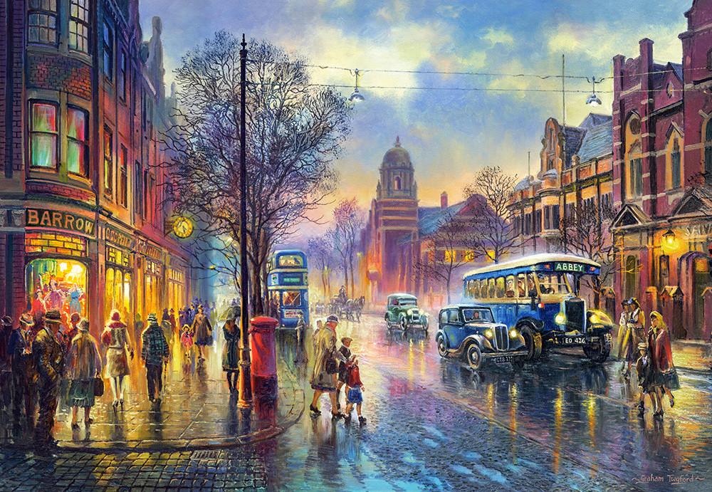 Пазлы Эбби-Роуд, 1930-е, Лондон на 1000 элементов NEW 2020