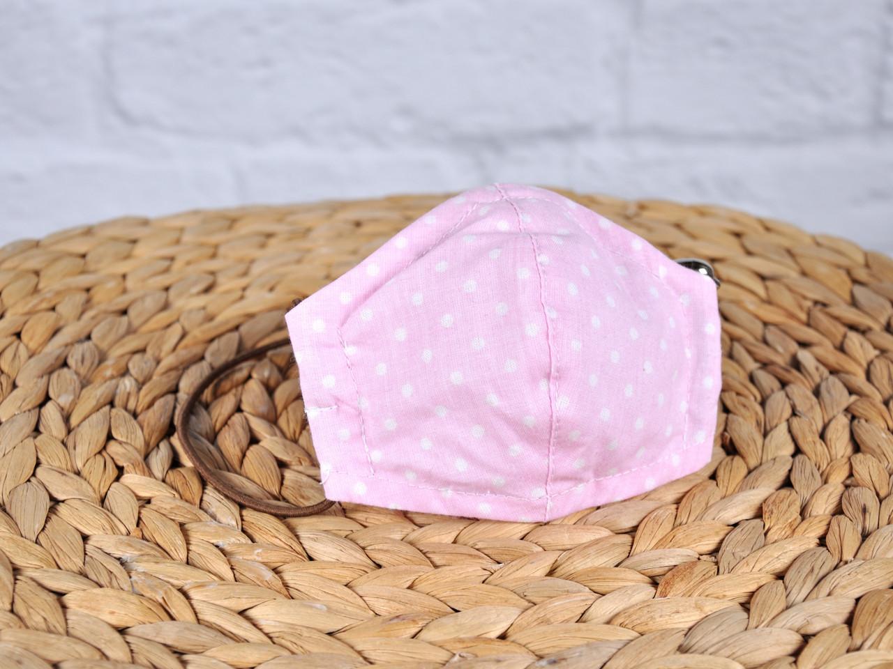 Маска для особи, Горошок на рожевому