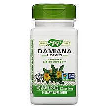"""Листья дамианы Nature's Way """"Damiana Leaves"""" 800 мг (100 капсул)"""
