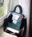 Каркас из прозрачного акрила для изготовления сумки 22х24 из 4х частей, фото 2