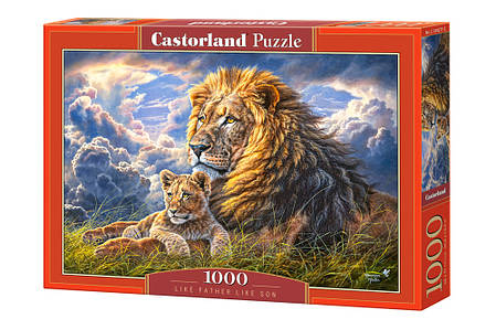 Пазли Сімейство левів на 1000 елементів, фото 2