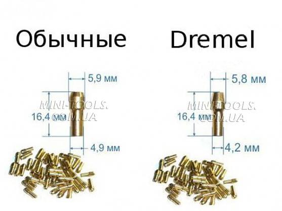 Цанги для граверів (бормашинок) D-2,0 mm, фото 2