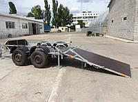 Прицеп для перевозки мини экскаватора.