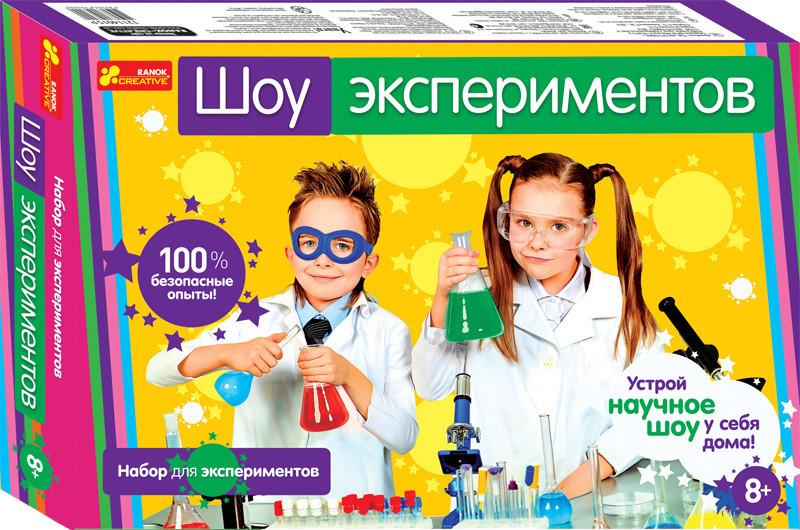 """Набор для экспериментов """"Шоу экспериментов"""" 12114022"""