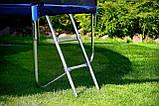 Детский батут  244 см нагрузка 180 кг с защитной сеткой и лестницей Profi MS 0496, фото 9
