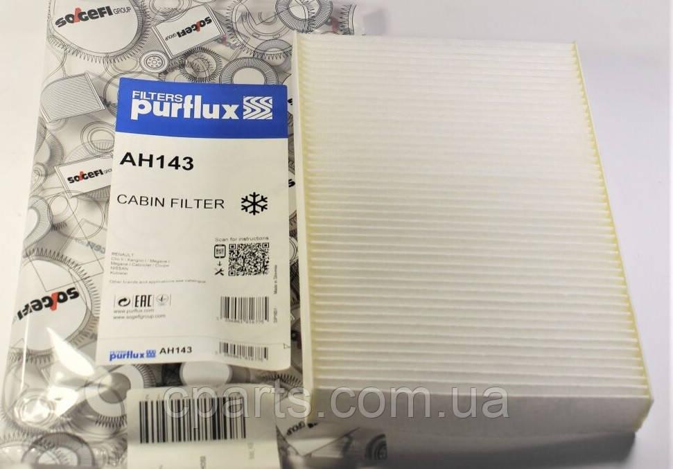 Фильтр салона Renault Symbol/Clio 2 (Purflux AH143)(высокое качество)