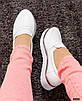Стильные кожаные женские туфли лоферы белые, фото 7